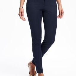 Mid-Rise Pixie Full-Length Pants for Women   Old Navy US