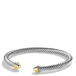 David Yurman Cable Classics Bracelet with Gold Jewelry & Accessories   Bloomingdale's (US)