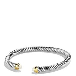 David Yurman Cable Classics Bracelet with Pearls and Gold Jewelry & Accessories   Bloomingdale's (US)