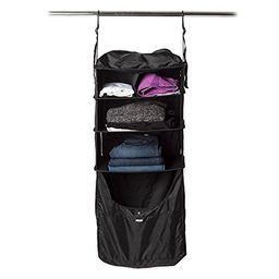 RISE Portable Shelving Luggage Insert, Gear (Black)   Amazon (US)
