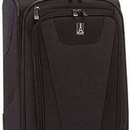 "Travelpro Maxlite 4 22"" Expandable Rollaboard Suitcase, Black   Amazon (US)"