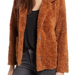 Dylan Kayla Faux Fur Cabin Jacket | Nordstrom