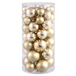 Ball Ornament Set in Gold | Wayfair North America