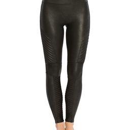 SPANX® Moto Faux Leather Leggings Women   Bloomingdale's (US)