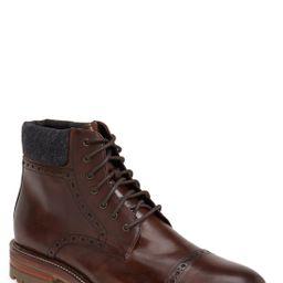 J&M 1850 'Karnes' Brogue Cap Toe Boot (Men)   Nordstrom