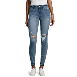 ana Destructed Jegging JCPenney | JCPenney
