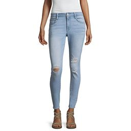 a.n.a Destructed Skinny Fit Jeggings - JCPenney | JCPenney