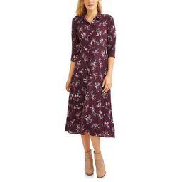 Women's Button Up Maxi Dress | Walmart (US)