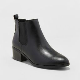 Women's Ellie Chelsea Boots - A New Day™ Black | Target