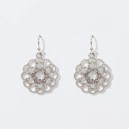 Crystal Filigree Earrings | LOFT | LOFT