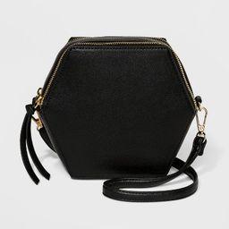 Under One Sky Honey Crossbody Bag - Black | Target