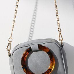 Lucite-Handled Mini Crossbody Bag | Anthropologie (US)