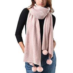FURTALK Chenille Women Winter Scarf Oversize Soft Scarves Shawls For Girls | Amazon (US)