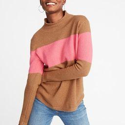 Mock-Turtleneck Sweater for Women   Old Navy US