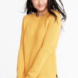 Textured Crew-Neck Sweater for Women   Old Navy US