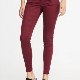 Mid-Rise Sateen Rockstar Jeans for Women | Old Navy US