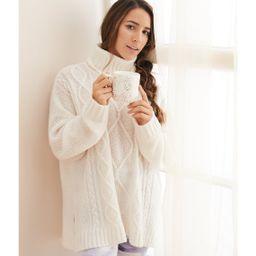 Aerie Oversized Cable Turtleneck   American Eagle Outfitters (US & CA)