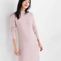Northfield Mockneck Sweater-Dress in Coziest Yarn | Madewell