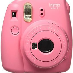 Fujifilm Instax Mini 9 Instant Camera - Flamingo Pink | Amazon (US)