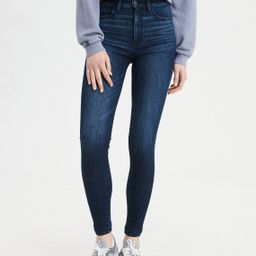 AE Ne(X)t Level Highest Waist Jegging, Cobalt Jewel   American Eagle Outfitters (US & CA)