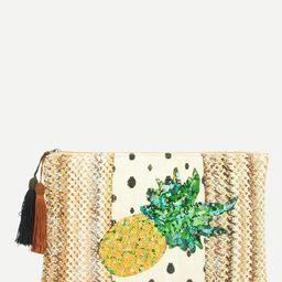 Sequin Decorated Clutch Bag | SHEIN