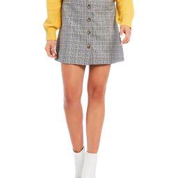 GB Menswear Plaid Button Front Skirt | Dillards Inc.