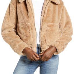4SI3NNA Teddy Faux Fur Jacket   Nordstrom