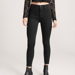 High Rise Ankle Jean Leggings | Abercrombie & Fitch US & UK