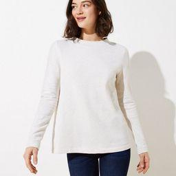 Button Back Sweatshirt | LOFT | LOFT