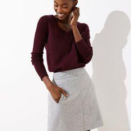 Speckled Pocket Shift Skirt | LOFT | LOFT