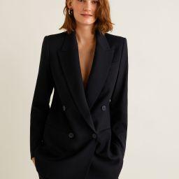 Double-breasted blazer - Women   MANGO (UK)
