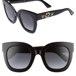 Gucci 49mm Cat Eye Sunglasses   Nordstrom