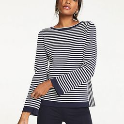 Mixed Stripe Sweater | Ann Taylor (US)