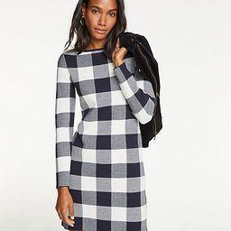 Buffalo Plaid Sweater Dress | Ann Taylor (US)