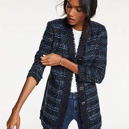 Houndstooth Tweed Jacket | Ann Taylor (US)