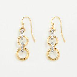 Pave Rondelle Earrings | Ann Taylor (US)