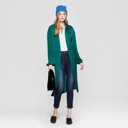 Women's Solid Kimono - A New Day™ Green | Target