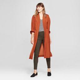 Women's Balloon Sleeve Kimono - A New Day™ Rust | Target
