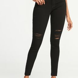 Mid-Rise Raw-Edge Rockstar Ankle Jeans for Women | Old Navy US