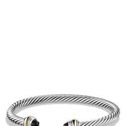 Cable Classics Bracelet with Semiprecious Stones & 14K Gold Accent, 5mm   Nordstrom