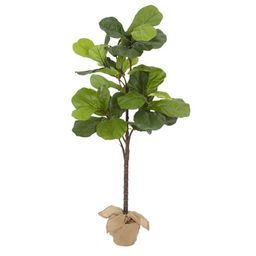 Faux Potted Fiddle Leaf Trees   Pottery Barn (US)