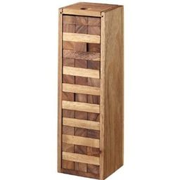 Monkey Pod Games Large Tumbling Tower Game with a Wooden Box (13 Inch)   Amazon (US)