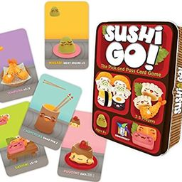 Sushi Go! - The Pick and Pass Card Game   Amazon (US)