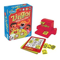 ThinkFun Zingo Bingo Award Winning Game for Pre-Readers and Early Readers Age 4 and Up   Amazon (US)