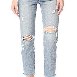 Levi's Women's Wedgie Selvedge Straight Jeans | Amazon (US)