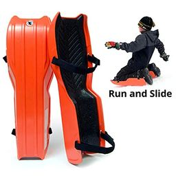 Sled Legs Wearable Snow Sleds – Fun Winter Accessories with Leg Support – Family Friendly Winter Act   Amazon (US)