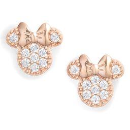 Disney Minnie Crystal Pavé Stud Earrings   Nordstrom