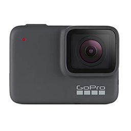 GoPro HERO7 Silver — Waterproof Digital Action Camera with Touch Screen 4K HD Video 10MP Photos   Amazon (US)