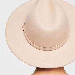Wythe Leather Band Felt Hat | Free People (US)