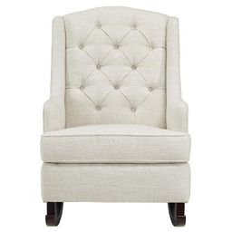 Zoe Tufted Rocking Chair   Target
